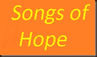 Songs of Hope logo yellow on orange 171 slope