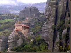 Meteora monastery Greece by alaskapine on flickr