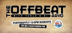 The Offbeat Arvo on Southern FM