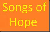 Songs of Hope logo yellow on orange 171