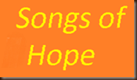 Songs of Hope logo yellow on orange 171 slope