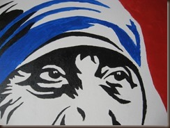 Mother Teresa from Juan Blanco by Denise Krebs on flickr