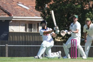 Glenn Beckett played another key knock for Omega making 60 on Saturday.