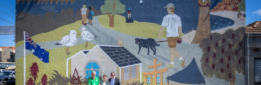 New mural to combat graffiti vandals