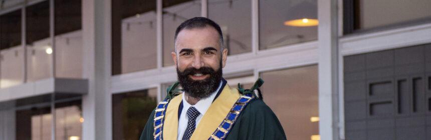 Kingston Mayor Steve Staikos